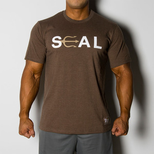 SEAL 티셔츠 브라운_SEAL TEE BROWN