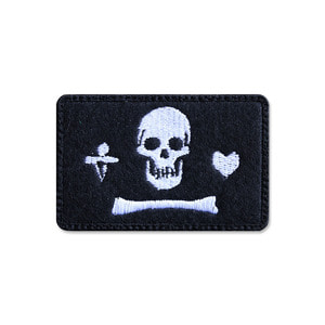 스테드 보넷 해적기_Stede Bonnet Pirate Flag_NO378