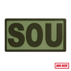 SOU PVC OLIVE_BIG_NO849