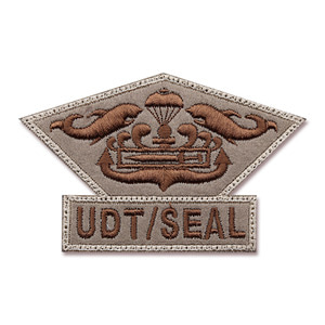 UDT/SEAL CHEST MEDAL_UDT/SEAL 흉장_TAN NO299